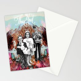 _THE END Stationery Cards