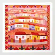 Little Sonora (Square) Art Print