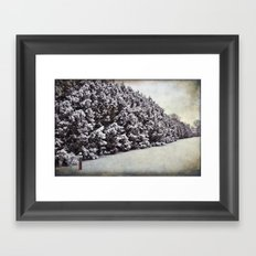 Hushed Framed Art Print
