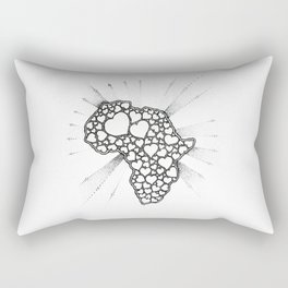 For the love of Africa Rectangular Pillow