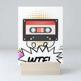 1980's Cassette - Retro Gone Bad Mini Art Print