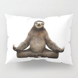 Sloth Yoga Art Print Pillow Sham