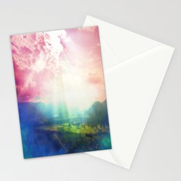 Mind-bending Universe Stationery Cards