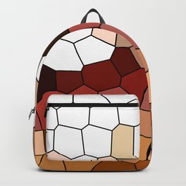grape vines polygons Backpack