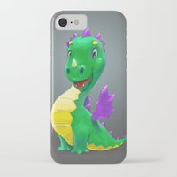 smaug iPhone & iPod Cases featuring The Childhood of Smaug ;) by pakowacz