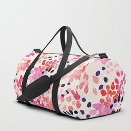 Flower abstract, watercolor floral pattern Duffle Bag