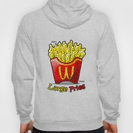 Maze Shirts: Large Fries Hoody
