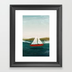 The Boat that Wants to Float Framed Art Print