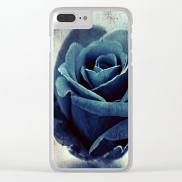 """Blue Rose: """"You are extraordinarily wonderful"""" Clear iPhone Case"""
