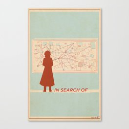 TBS Search Party: In Search Of Canvas Print