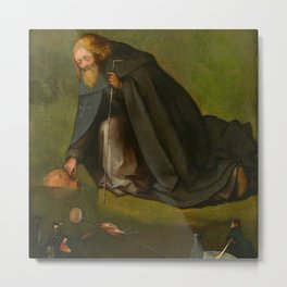 "Hieronymus Bosch ""The Temptation of Saint Anthony"" (Kansas) Metal Print"