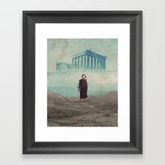 Mrs. Loneliness Framed Art Print