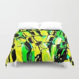 Jamaican Sugaarcane Duvet Cover