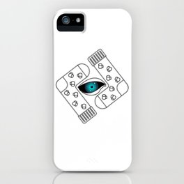 All-Seeing Eye With Socks And Mugs iPhone Case