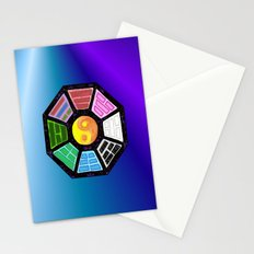 Painted Bagua Stationery Cards