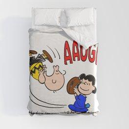 It's Football Season, Charlie Brown! Duvet Cover