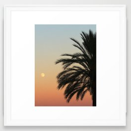 Warm Tropical Essence Framed Art Print