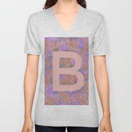 B Unisex V-Neck