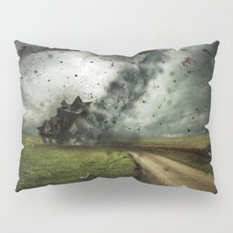 Cyclone-tornado Pillow Sham