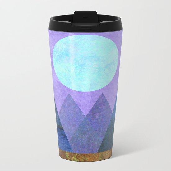 Take Me Away, Mountains, Full Moon Metal Travel Mug