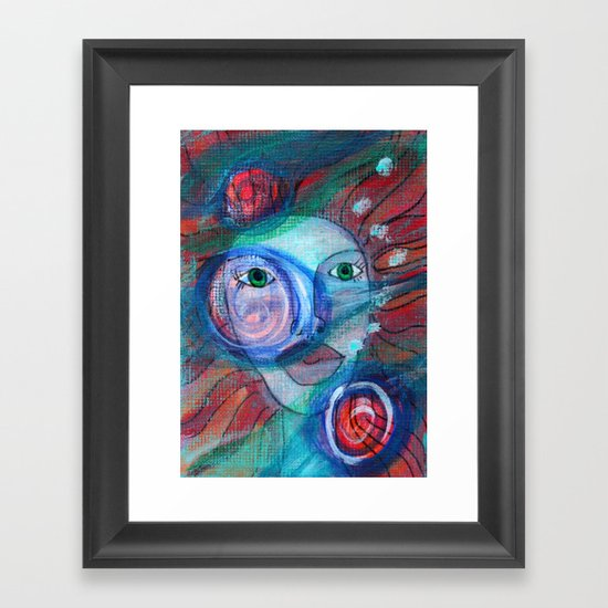 Ophilia Framed Art Print