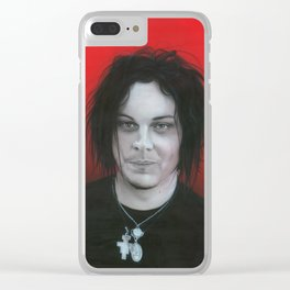 'Jack White' Clear iPhone Case