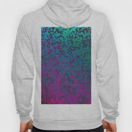 Colorful Corroded Background G296 Hoody