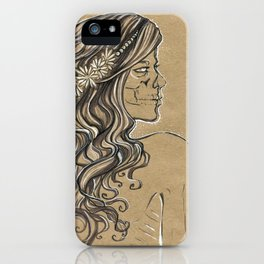 The ghost of bride iPhone Case