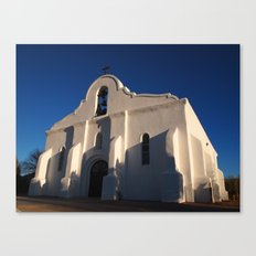 San Elizario Presidio Church, El Paso Canvas Print
