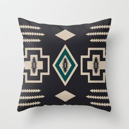 game night v2 – north star palette Throw Pillow
