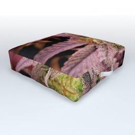 Passionately Purple Outdoor Floor Cushion