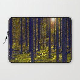 Green Forest #decor #society6 Laptop Sleeve
