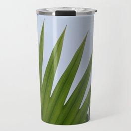 Tropical Palm Fan Travel Mug
