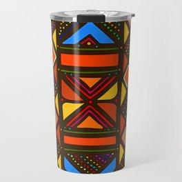 African Style No6, Sahara Desert Travel Mug