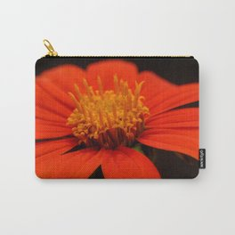 Red African Daisy Carry-All Pouch