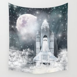 the adventure begins Wall Tapestry