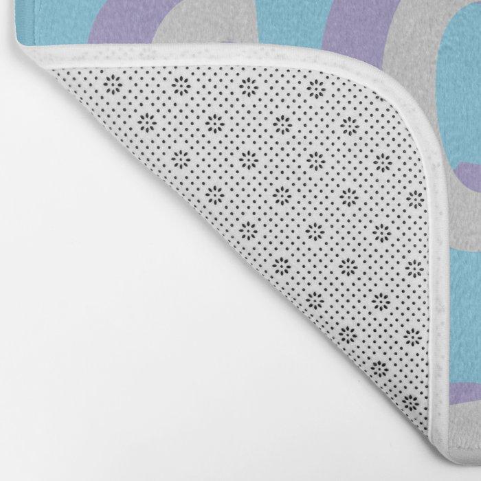 Love Scenario - Typography Bath Mat