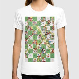 Vintage snakes and ladders T-shirt