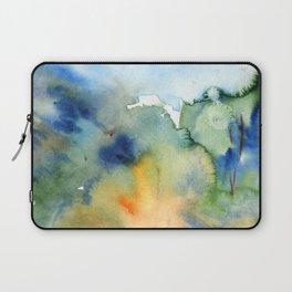 watercolor fall trees Laptop Sleeve