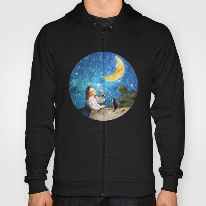 One Wish Upon the Moon Hoody
