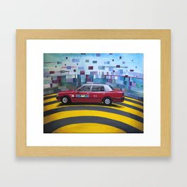 """""""Home in the City"""" By: Isabel Tze Chen Chun Framed Art Print"""