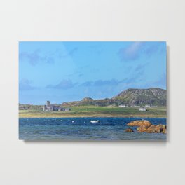 Iona Abbey 2 Metal Print