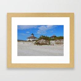 Dunes on Gasparilla I Framed Art Print