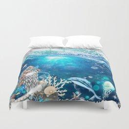 Enchanted Mermaid Sea Duvet Cover
