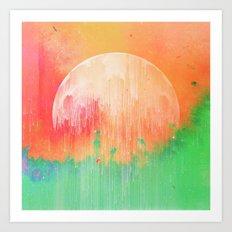 Hyper-Gamma spaces Art Print