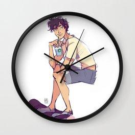 Skater Percy Wall Clock
