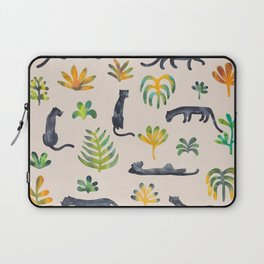 Panthers in the jungle Laptop Sleeve