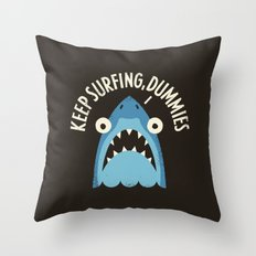 Great White Snark Throw Pillow