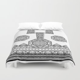 Grecian Holiday Revisited! Duvet Cover