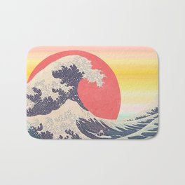 Hokusai revisited Bath Mat
